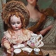 ~~~ Lovely Antique French Porcelain Toilette - Set ~~~