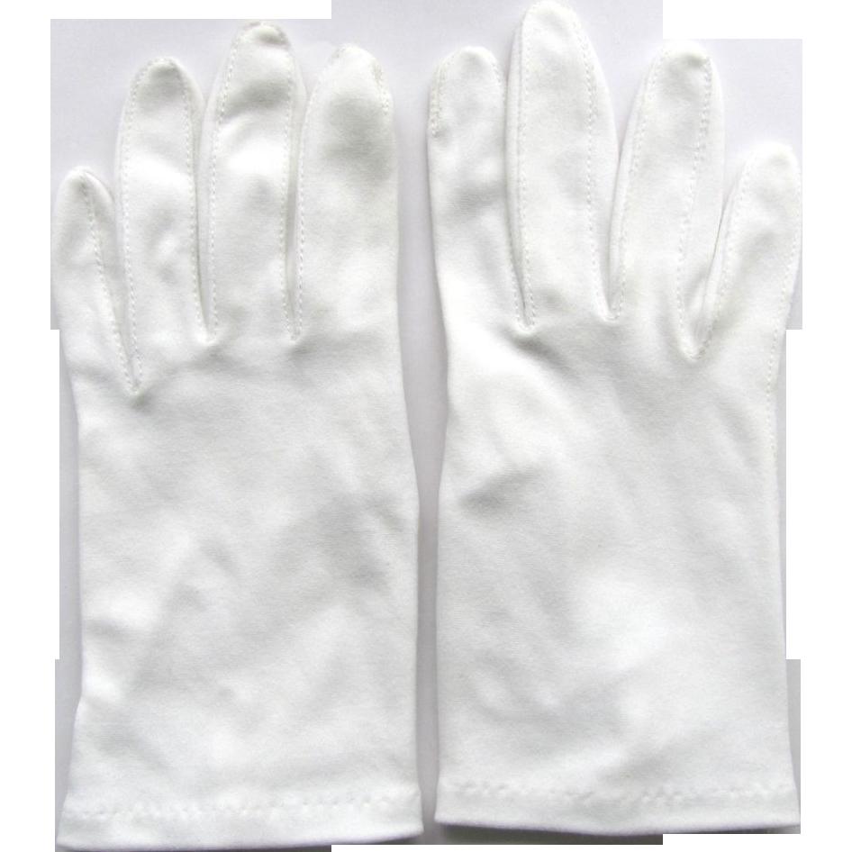 Vintage Cotton Gloves 85
