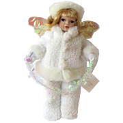 Vintage Snow Drop Doll in White with Angel Wings – Lloyds Christmas Around the World