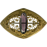 Large Sash Pin, Circa 1910