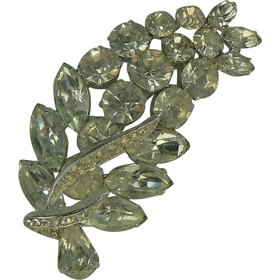 Weiss-Beautiful 1950's Brooch.