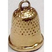 Vintage 10K Gold Thimble Charm