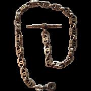 Ornate Victorian 9CT Gentleman's Watch Fob Chain