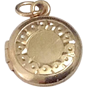 Child's 10K Gold Locket
