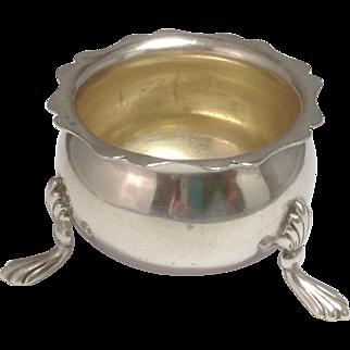 1906 Birmingham England Sterling Footed Master Salt Dish