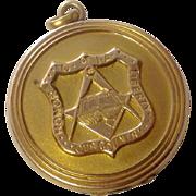 Vintage Masonic O of IA GF Locket