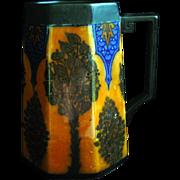 Rare Reco Capily Lusterware Royal Doulton Stein Mug Arts & Crafts circa 1915 Art Nouveau