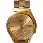 Vintage Seiko Automatic – Self Winding  Watch- Seiko Day and Date Watch