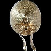 Vintage Sunbonnet NAPIER Brooch