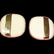 Vintage MONET Pierced Earrings