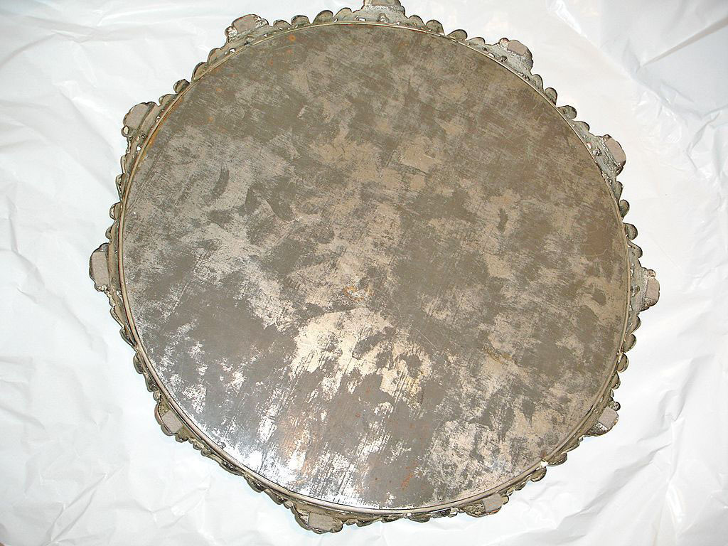 Ex Large Victorian Mirror Plateau 14 Quot Display Stand Cake Or From Wildgoosechase On Ruby Lane