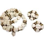 Hobe Bracelet and Earrings Set –  Vintage HOBE Demi-Parure Jewelry