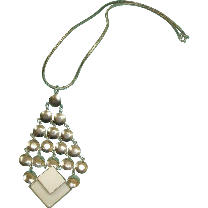 RETRO Hobe Necklace -  1960's Vintage  HOBE  Signed Necklace