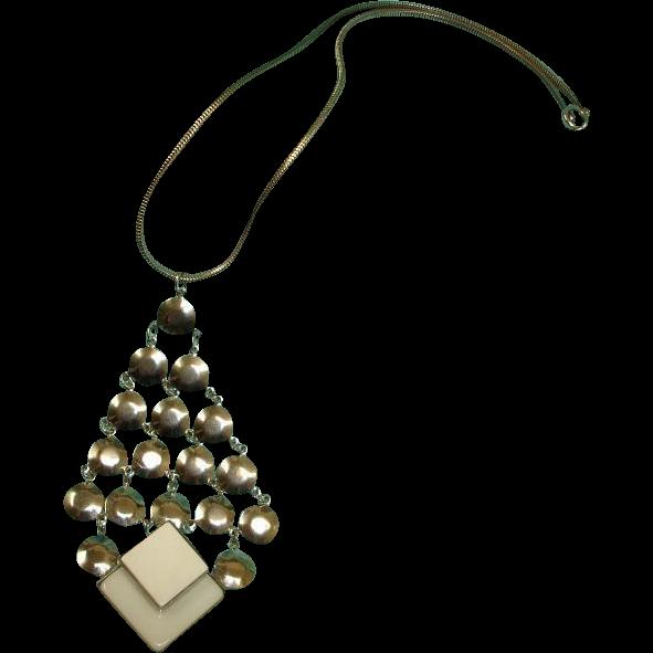 Vintage Hobe Necklace - 1960's Hippy Era Necklace