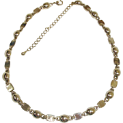 Vintage Thick Chain - Silver Metal Necklace