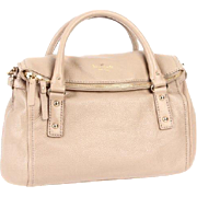 Retired Kate Spade HANDBAG - New York Cobble Hill Small Leslie - Oyster Beige