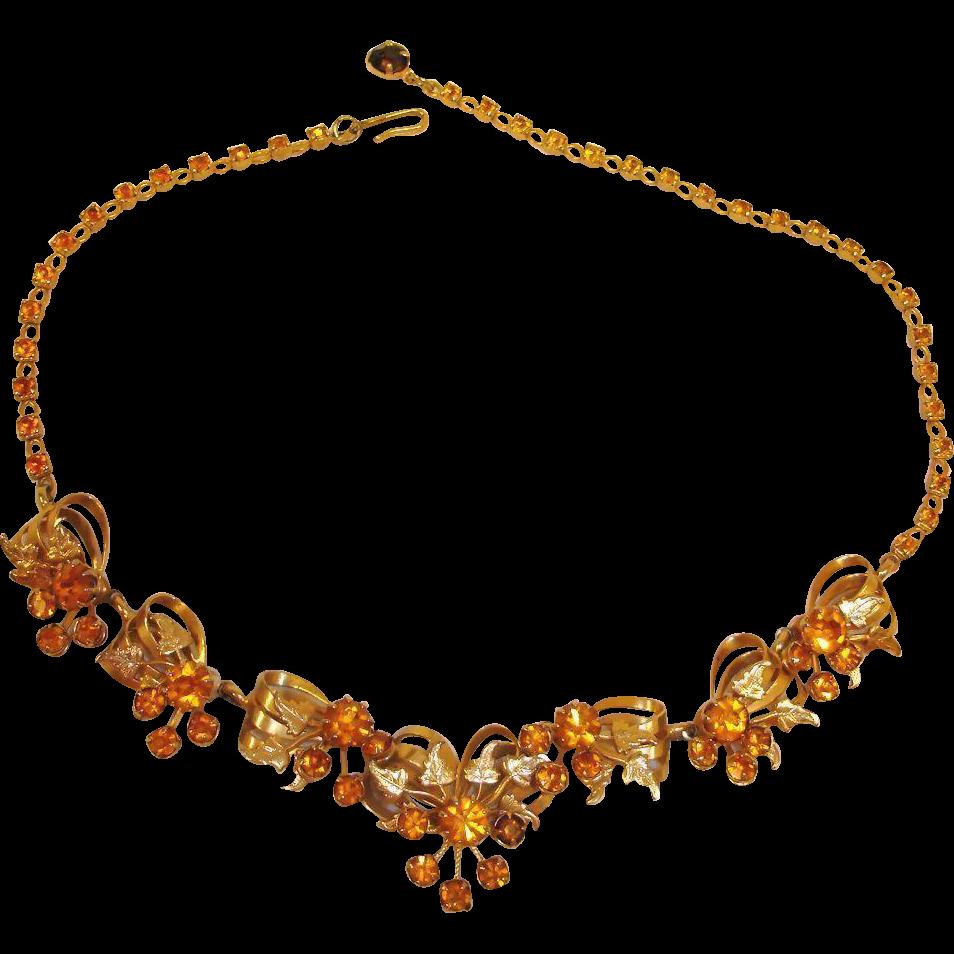KRAMER Signed Necklace
