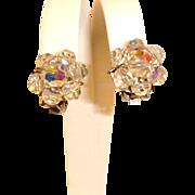 Vintage Aurora Borealis Earrings