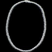"Estate Sterling Silver Navajo Pearls 24"" Long"