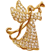 Vintage MONET Angel Pin
