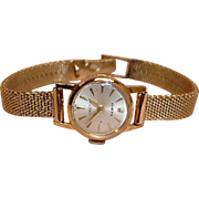 ROLEX Ladies Watch - Precision Crown - 14K Gold Woman's Watch