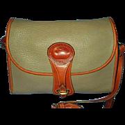 Vintage Dooney Bourke Leather Crossbodyor Shoulder Handbag - 1980 Essex Collection Handbag