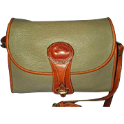 Vintage Dooney Bourke Leather Crossbodyor Shoulder Handbag - 1980 Essex Collection Handbag