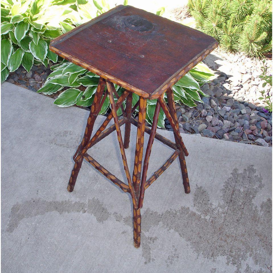 Vintage Primitive Twig Table