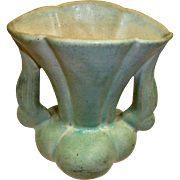 "NILOAK Pottery VASE - Light Green – 6"" High"