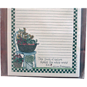 Artist Deb Strain - UNUSED Card Stock - Recipe Cards Saltbox Creations