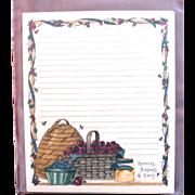 Artist Deb Strain - Retired UNUSED Card Stock - Recipe Cards Saltbox Creations