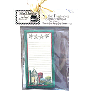 Artist Deb Strain - Retired UNUSED Card Stock - Candles Theme Notepad