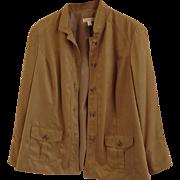 Coldwater Creek Blazer / Jacket - Soft Camel Color