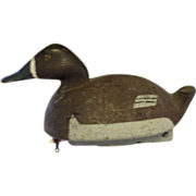 Vintage Great Lakes Bluebill Hen Decoy