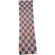 Vintage Crocheted 1950s Dresser Scarf