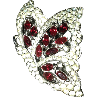 Estate Panetta Butterfly Pin