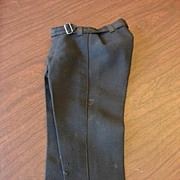 Fabulous Black Antique Doll Trousers~Free US Shipping!