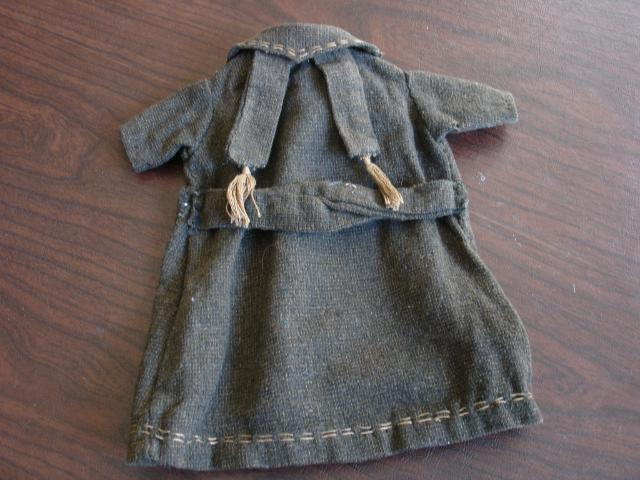 Sturdy Little Tweed Doll Coat~Free US Shipping!