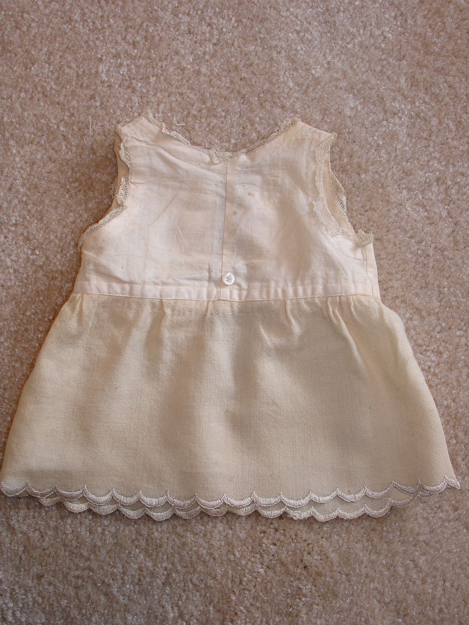 Sweet Little Factory Muslin and Wool Chemise