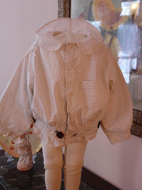 Amazing 1860's Child's Muslin Blouse