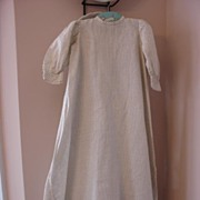 Lovely Long Calico Baby Gown~Pristine Condition