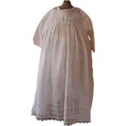 Gauzy Antique Baby Dress