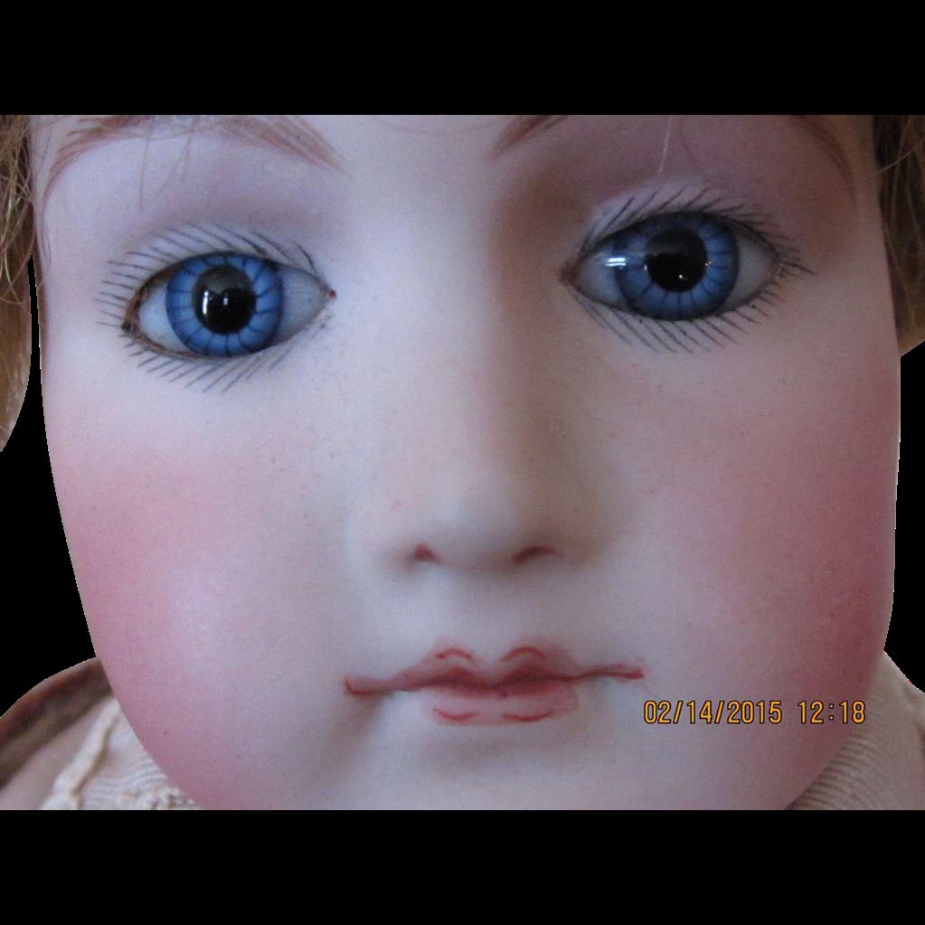 """Gorgeous 18"""" Portrait Jumeau Mature Lady Doll"""