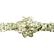 14k Vintage Diamond Bracelet 2.13ctw
