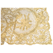 Absolutely Exquisite, Antique Lace Tablecloth