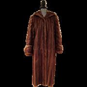 Gorgeous Full Length Mink Fur Coat