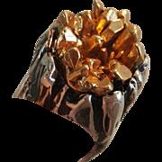 Brutally Brutalist, Sterling Silver Ring