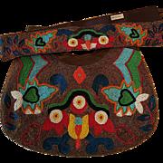Discontinued Design, Moyna Beaded Bag w/Matching Belt