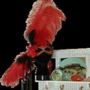 Masquerade Mardi Gras Handmade Mask