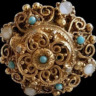 Lovely Florenza Poison Ring